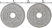 Изображение Монеты Франция 10 сантим 1945 Цинк XF
