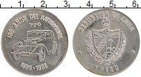 Изображение Монеты Куба 1 песо 1986 Медно-никель UNC- Автомобиль