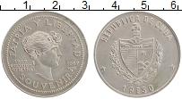 Изображение Монеты Куба 1 песо 1987 Медно-никель UNC- 100 лет сувенирному