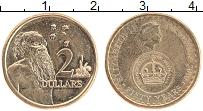 Изображение Монеты Австралия 2 доллара 2016 Бронза UNC- Елизавета II.
