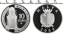 Продать Монеты Мальта 10 евро 2008 Серебро