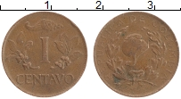 Изображение Монеты Колумбия 1 сентаво 1967 Бронза XF