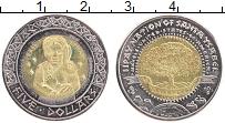 Изображение Монеты США 5 долларов 2012 Биметалл XF UNUSUAL. Резервация