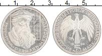 Изображение Монеты ФРГ 5 марок 1969 Серебро UNC Герхард Меркатор, F