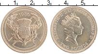 Изображение Монеты Великобритания 2 фунта 1986 Латунь XF Елизавета II. XIII И