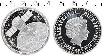 Изображение Монеты Ниуэ 2 доллара 2014 Посеребрение UNC- Елизавета II.Корабль