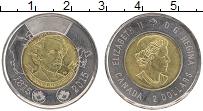 Изображение Монеты Канада 2 доллара 2015 Биметалл UNC- Елизавета II. 200 ле