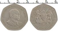 Изображение Монеты Кения 5 шиллингов 1985 Медно-никель XF Даниэль Мои