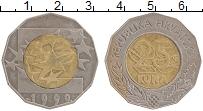 Изображение Монеты Хорватия 25 кун 1999 Биметалл XF Европейская валюта-е