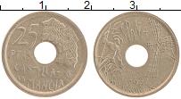 Изображение Монеты Испания 25 песет 1996 Латунь XF Кастилья ла Манча