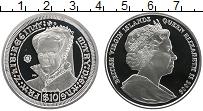Изображение Монеты Виргинские острова 10 долларов 2008 Серебро Proof Мария