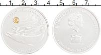 Изображение Монеты Токелау 5 долларов 2017 Серебро UNC Барракуда