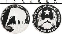 Продать Монеты Гвинея-Бисау 20000 песо 1993 Серебро