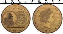 Изображение Монеты Соломоновы острова 10 долларов 2017  UNC История монет. Золот