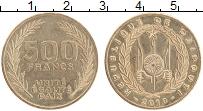 Продать Монеты Джибути 500 франков 2010 Латунь
