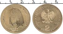 Изображение Монеты Польша 2 злотых 2009 Латунь UNC- Чеслав Немен