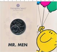 Изображение Подарочные монеты Великобритания 5 фунтов 2021 Медно-никель BUNC