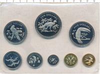 Изображение Подарочные монеты Белиз Выпуск 1974 года 1974 Медно-никель Proof