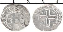 Изображение Монеты Португалия 50 рейс 1643 Серебро VF