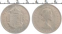 Изображение Монеты Великобритания 1/2 кроны 1967 Медно-никель UNC- Елизавета II.