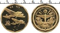 Изображение Монеты Маршалловы острова 10 долларов 1991 Латунь UNC Самолеты Второй миро