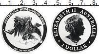 Изображение Монеты Австралия 1 доллар 2021 Серебро Proof Орел