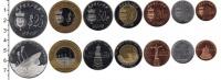Изображение Наборы монет Редонда Редонда 2012 2012  UNC-