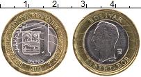 Изображение Монеты Венесуэла 1 боливар 2012 Биметалл UNC Симон Боливар