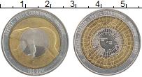 Продать Монеты Арктика 10 долларов 2011 Биметалл