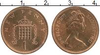 Изображение Монеты Великобритания 1 пенни 1977 Бронза UNC Елизавета II.