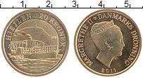 Изображение Монеты Дания 20 крон 2011 Бронза UNC- Маргрете II
