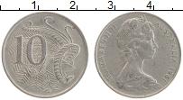 Изображение Монеты Австралия 10 центов 1981 Медно-никель XF Елизавета II