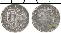 Изображение Монеты Австралия 10 центов 2001 Медно-никель XF Елизавета II
