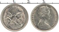 Изображение Монеты Австралия 5 центов 1980 Медно-никель UNC Елизавета II