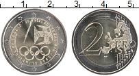 Изображение Мелочь Португалия 2 евро 2021 Биметалл UNC Олимпийские игры в Т