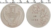 Изображение Монеты Швеция Медаль 1980 Медно-никель XF Хоккей. Стокгольм. 2
