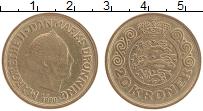 Изображение Монеты Дания 20 крон 1990 Бронза XF Маргрете II
