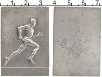 Изображение Монеты Швеция плакета 0 Медно-никель XF Соревнования по легк