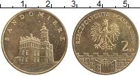 Изображение Монеты Польша 2 злотых 2006 Латунь UNC- Сандомир