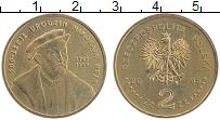 Изображение Монеты Польша 2 злотых 2005 Латунь UNC- 500 лет Миколе Рей