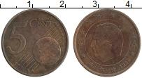 Изображение Монеты Бельгия 5 евроцентов 1999 Бронза XF Альберт II