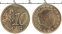 Изображение Монеты Люксембург 10 евроцентов 2002 Латунь UNC- Великий герцог Люксе