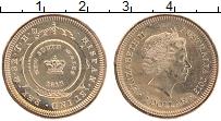 Изображение Монеты Австралия 1 доллар 2013 Латунь UNC Елизавета II. 200 ле