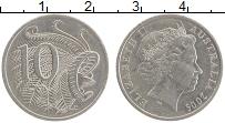 Изображение Монеты Австралия 10 центов 2005 Медно-никель XF Елизавета II.
