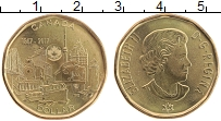 Изображение Монеты Канада 1 доллар 2017 Бронза UNC Елизавета II. 150 ле