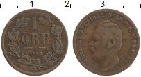 Изображение Монеты Швеция 1 эре 1863 Медь XF Карл XV