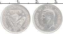 Изображение Монеты ЮАР 3 пенса 1941 Серебро XF Георг VI