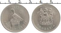 Изображение Монеты Родезия 20 центов 1975 Медно-никель XF+