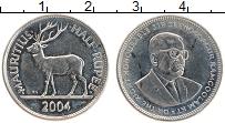 Изображение Монеты Маврикий 1/2 рупии 2004 Медно-никель UNC- Сивусагур Рамгулам