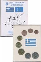 Изображение Подарочные монеты Греция Евронабор 2002 года 2002  UNC-